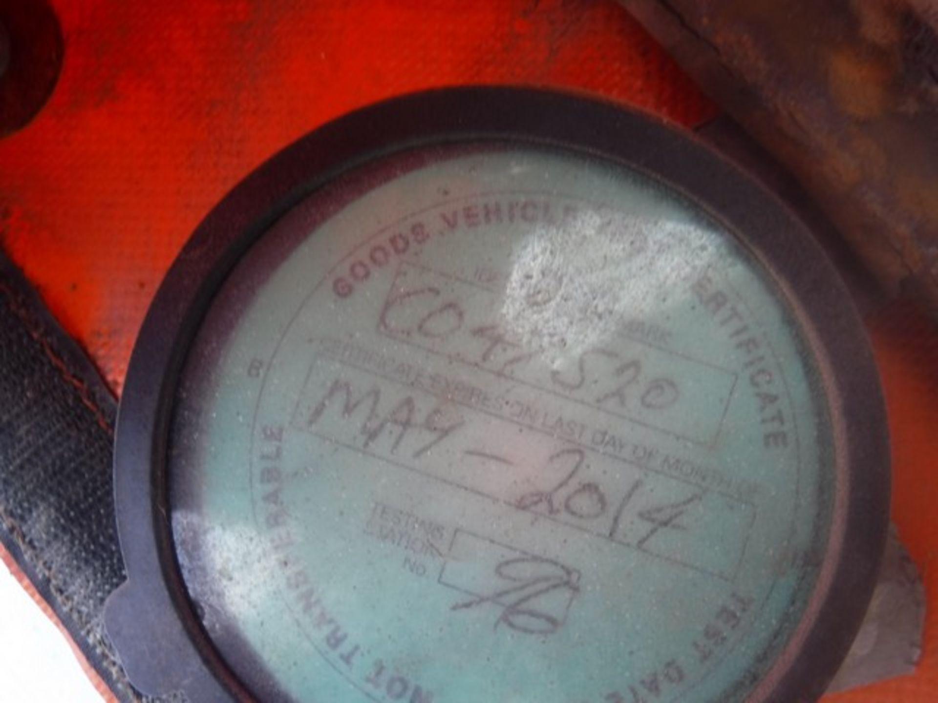 Lot 1604 - MONTRACON BLUE BOX TRAILER 2000, CN- DV61053