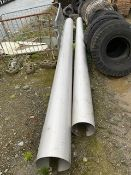 VARIOUS LENGTHS OF STAINLESS STEEL PIPE