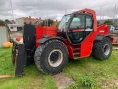 MANITOU MHT 10160L TURBO C/W 8FT FORKS WIDE CARRIAGE HYDRAULIC FORK ADJUSTER AND SIDE SHIFT SN - 7