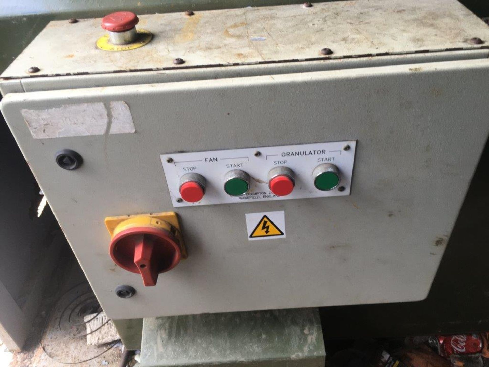 Lot 3122 - **NEW** CABLE GRANULATOR AND VIBRATING SEPARATOR