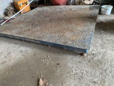 5000KG SCALES 5FT x 5FT