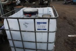 Mixed caged pallet of various paints - see image