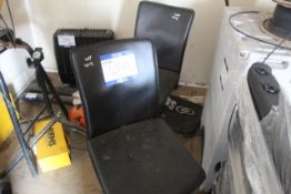 SALON CHAIRS LEATHER x2