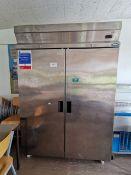 MPS Large commercial double fridge freezer