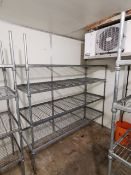Stainless steel racking unit 6ft