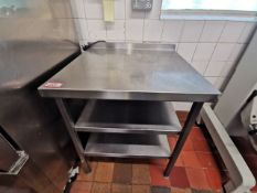 Excel Stainless steel kitchen worktop 2ft