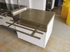 Moffat Small commercial counter with storage 2.5ft