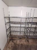 Stainless steel racking unit 4ft