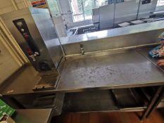 Excel Stainless steel kitchen worktop corner 5.5 ft