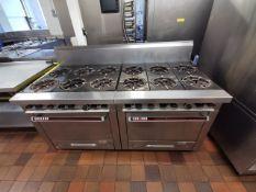 Garland 12 hob gas cooker