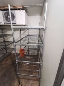 Stainless steel racking unit 5ft