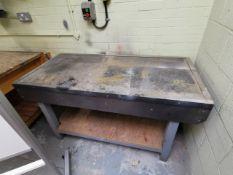 Grey work bench 5ft