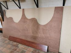 Asorted wooden panels
