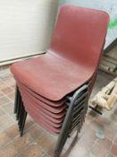 vintage school classroom chairs