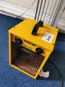 small Yellow eletrical heater