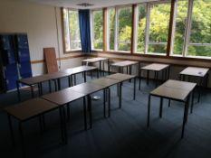 Vintage classroom school desks 60cm by 60cm x22