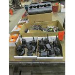 9 Motorolla Radios c/w Chargers, Accessories & Parts
