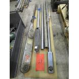 3 Torque Wrenches w/ 2 Extension Handles (the torque wrenches may need repair)