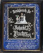 """""""Denkspruch für Johannes Bucher"""