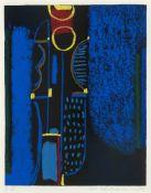 """Ackermann, MaxBerlin, 1887 - Unterlengenhardt, 197550,7 x 39,6cm,R.""""Rhythmen und Klänge"""