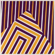 Abercrombie, DouglasGlasgow, geboren 193450 x 50 cm,o.R.4 Bl.: Ohne Titel. Farbserigrap