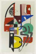 """Ackermann, MaxBerlin, 1887 - Unterlengenhardt, 197547,5 x 31,2cm,R.""""Mauerbild"""", 1946/74"""