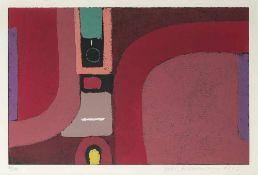 """Ackermann, MaxBerlin, 1887 - Unterlengenhardt, 197532,3x50,3cm,R.""""Überbrückte Kontinent"""