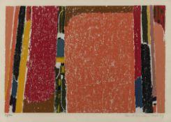 Ackermann, MaxBerlin, 1887 - Unterlengenhardt, 197532 x 48 cm, R.Ohne Titel, 1967. Farb