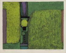 """Ackermann, MaxBerlin, 1887 - Unterlengenhardt, 197534,1x43,8cm,R.""""Überbrückte Kontinent"""