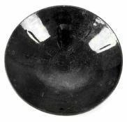 Keramikschale mit schwarzer Lüsterglasur im Song-Stil