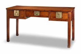 Schreibtisch aus 'huanghuali'