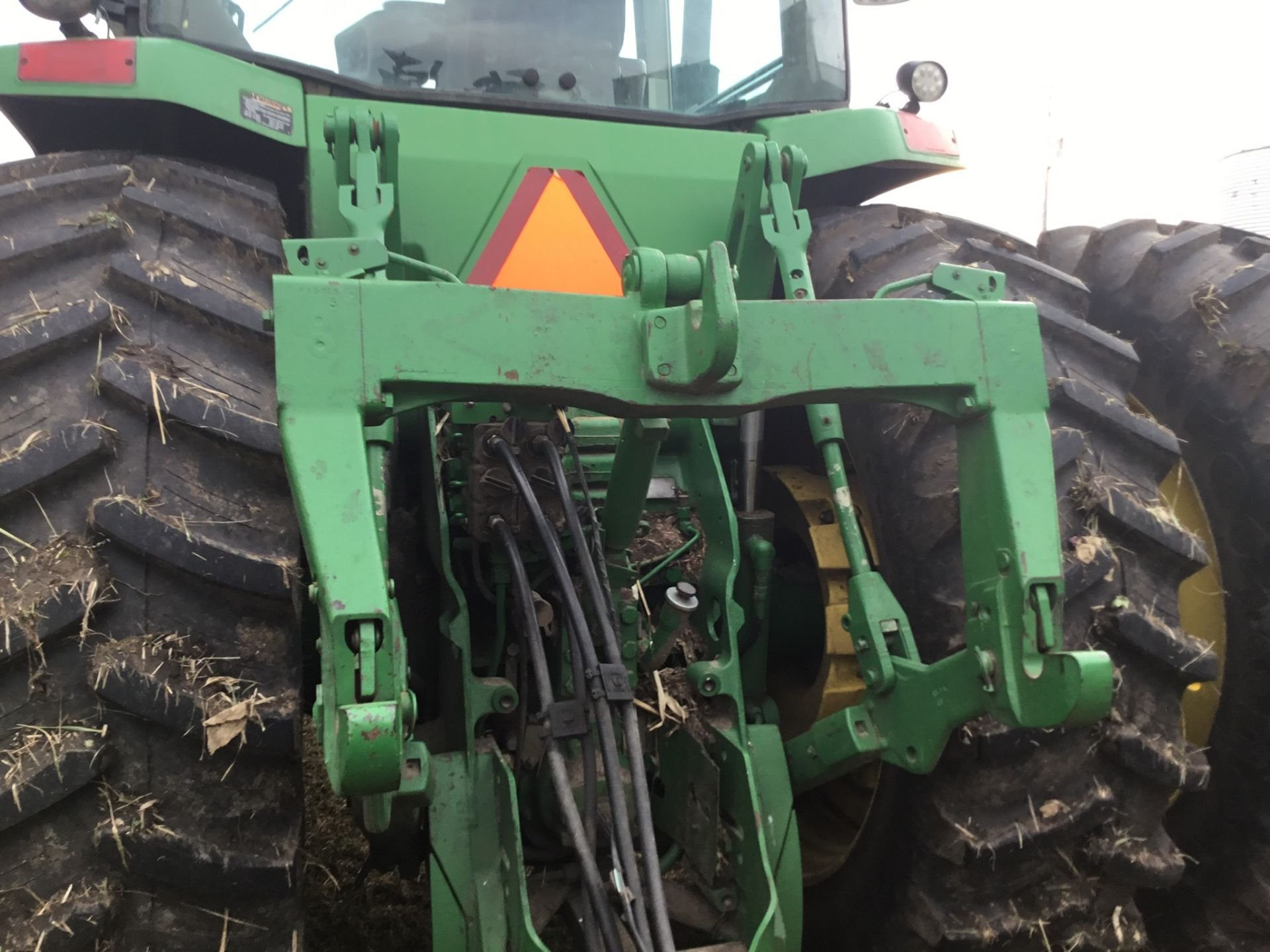 1997 John Deere 8300 MFWD, Power Shift, 3 Hydraulic Remotes, 3 Pt., Quick Hitch, PTO, Green Star - Image 11 of 25