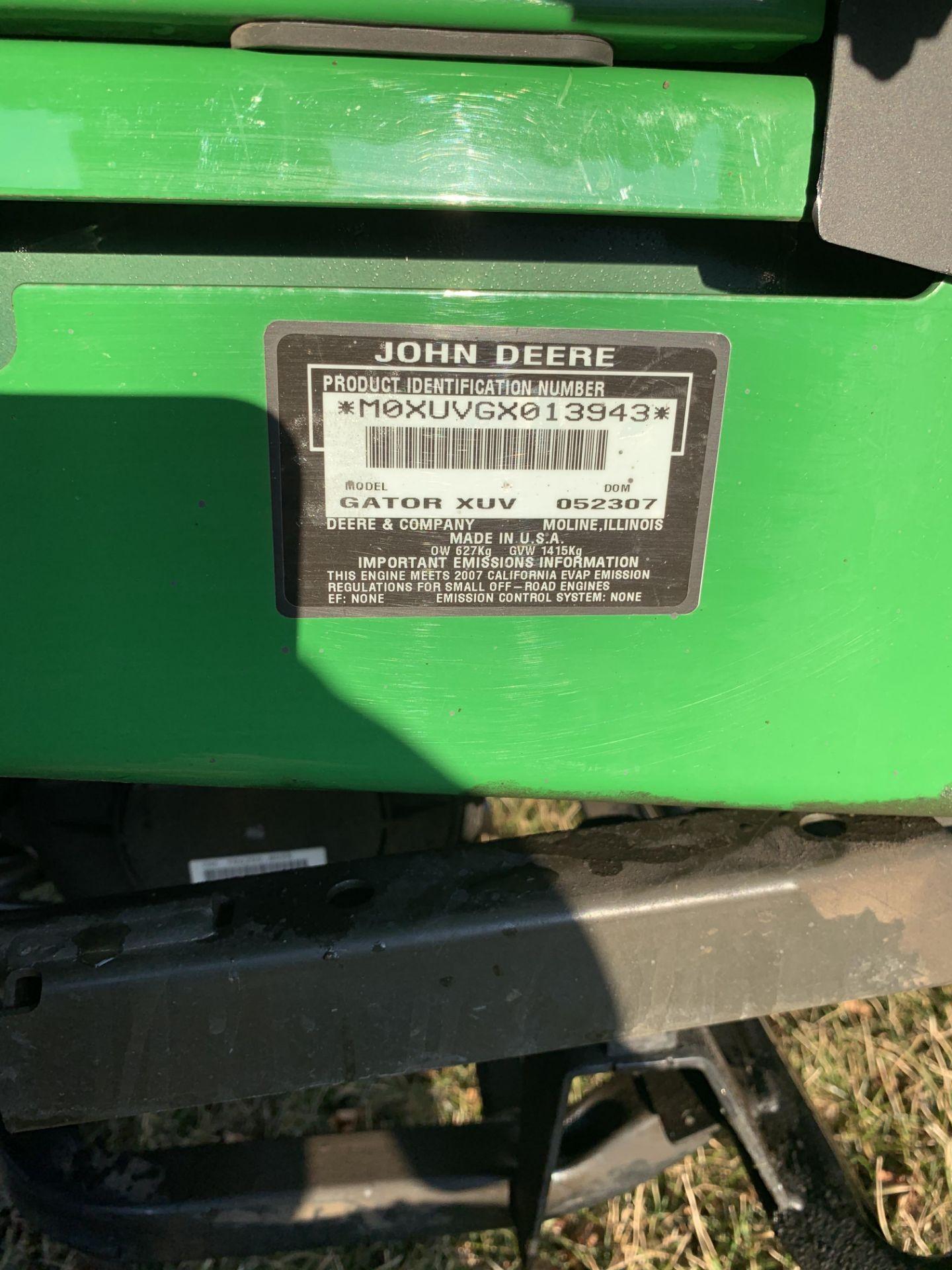 John Deere 2007 620I Gator XUV, 4x4, - Image 2 of 8