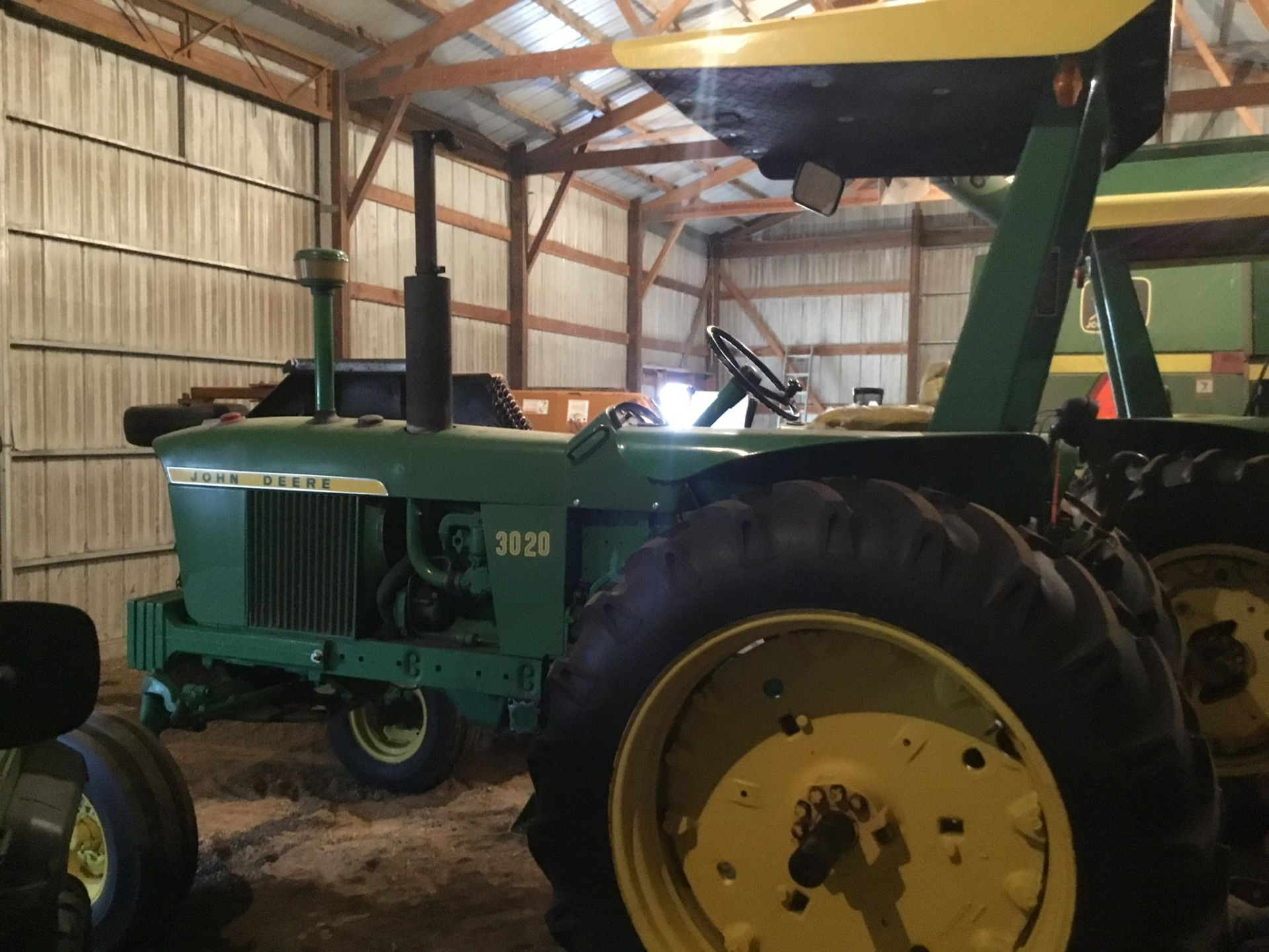 1966 John Deere 3020 Gas, JD Wide Front, Synchro Range, Roll Bar & Canopy, Dual Hydraulic Remotes, - Image 13 of 13