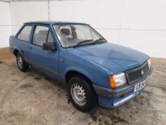 1990 Vauxhall Nova 2 dr saloon