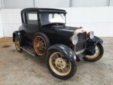 1929 Ford Model A (Black)