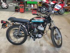 1972 Harley Davidson 125cc 2 stroke