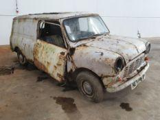 Mini Panel Van - Restoration project