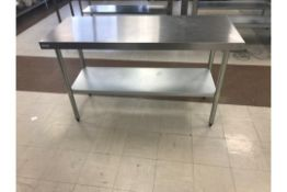 Vogue Stainless Steel Centre Table