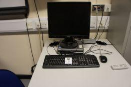 Acer Veriton PC with Fujitsu Siemens monitor