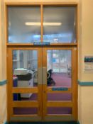 Wooden Double Door & Frame