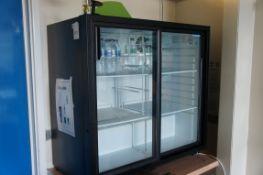Polar two door back bar fridge