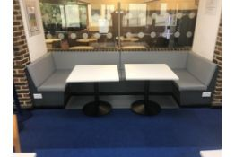Soft Seating Area With Two Tables