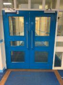 Double Fire Doors