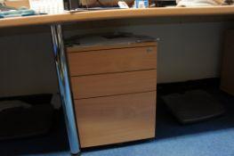 4 x three drawer pedestals