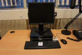 Stone Core i3 PC with Acer a173 monitor