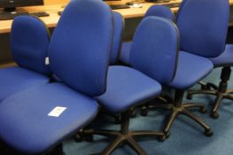 8 x gas lift chairs