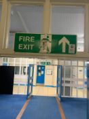 x5 Fire Exit Signs