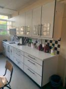 Complete Kitchen Cupboards & Sink