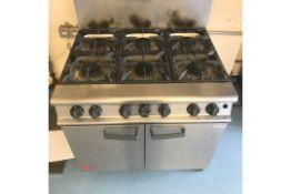 Falcoln 6 Gas Burner & Oven
